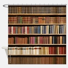 Books On A Bookshelf, Bookcase, Bookcase Shower Cu