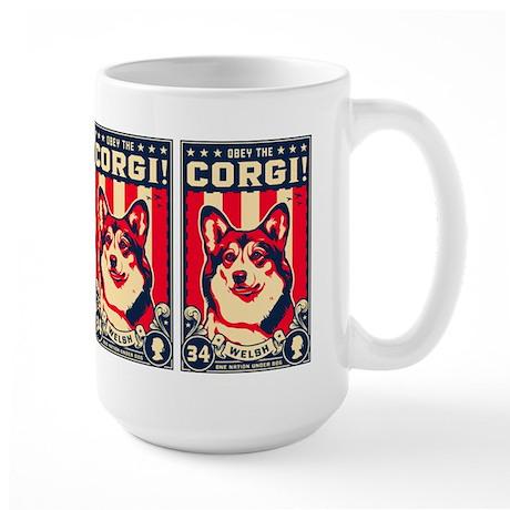 Obey the CORGI! USA Freedo Mugs