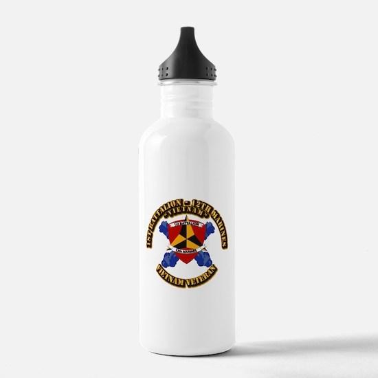 USMC - 1st Bn 12th Marines Water Bottle