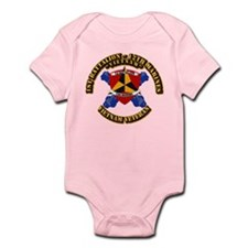 USMC - 1st Bn 12th Marines Infant Bodysuit
