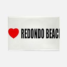 I Love Redondo Beach, Califor Rectangle Magnet