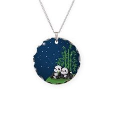 Star Night Panda Necklace