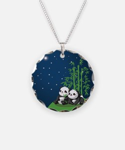 Star Night Panda Necklace