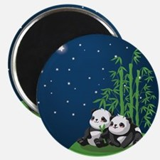 Star Night Panda Magnet