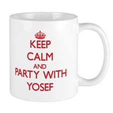 Keep Calm and Party with Yosef Mugs