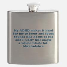 ADHD Magic Hocus Pocus Flask