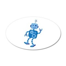 Dancing Robot Wall Decal