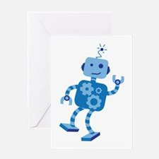 Dancing Robot Greeting Cards