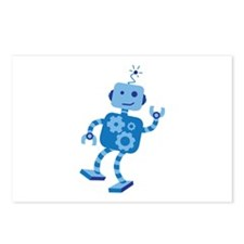 Dancing Robot Postcards (Package of 8)