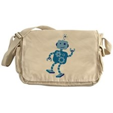 Dancing Robot Messenger Bag