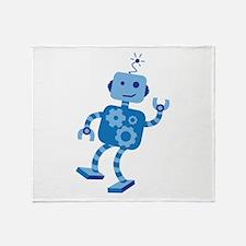 Dancing Robot Throw Blanket