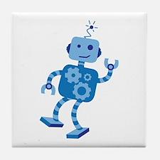 Dancing Robot Tile Coaster