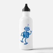 Dancing Robot Water Bottle