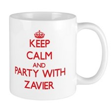 Keep Calm and Party with Zavier Mugs
