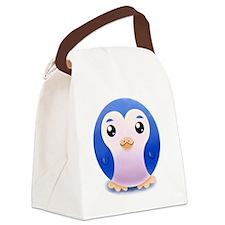i_love_penguin Canvas Lunch Bag