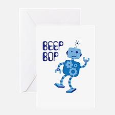 BEEP BOP Greeting Cards