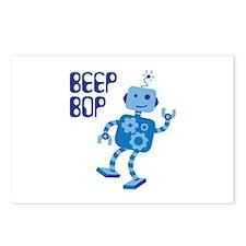 BEEP BOP Postcards (Package of 8)