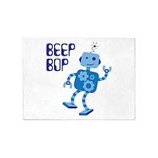 BEEP BOP 5'x7'Area Rug