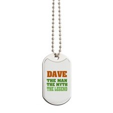 Dave The Legend Dog Tags