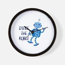 DANCE THE ROBOT Wall Clock