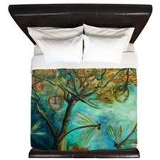 Dragonfly Flirtation King Duvet