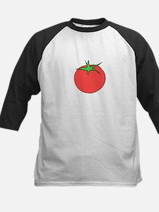 Cartoon Tomato (Buffered) Baseball Jersey