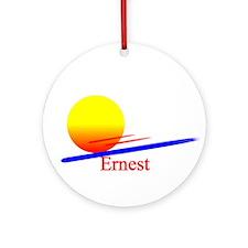 Ernest Ornament (Round)