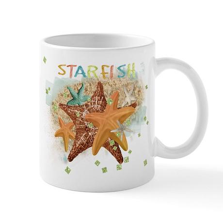 Starfish Sparkle Mugs