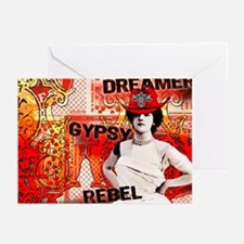 Gypsy, Rebel, Dreamer Greeting Cards (Pk of 10