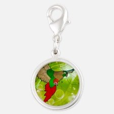 stained glass conure Charms