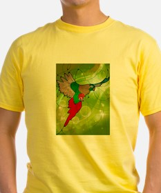 stained glass conure T-Shirt