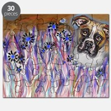 Boxer eyes buzzing bee 2 Puzzle