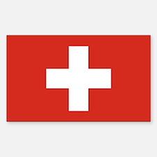Switzerland Flag Decal