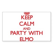 Keep Calm and Party with Elmo Decal