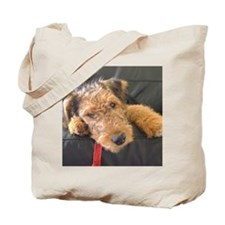 Earnest the Airedale Tote Bag