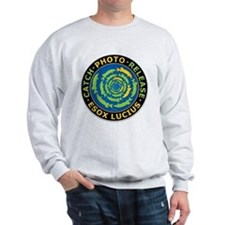 Catch And Release Esox Lucius Sweatshirt
