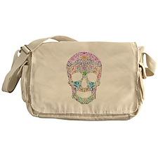 Colorskull Messenger Bag
