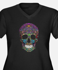 Colorskull Plus Size T-Shirt