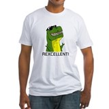 Dinosaur Fitted Light T-Shirts