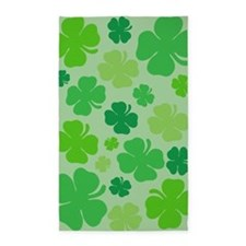 Lucky Green Clover 3'x5' Area Rug