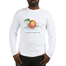 Freeze Peach Long Sleeve T-Shirt