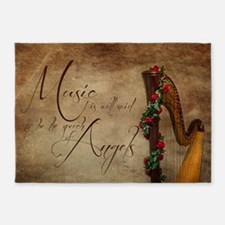 Harp 5'x7'Area Rug