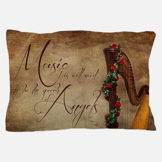 Harp Pillow Case