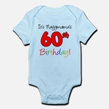 Nagymama 60th Birthday Body Suit