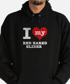 I love my Red Eared Slider Hoodie (dark)