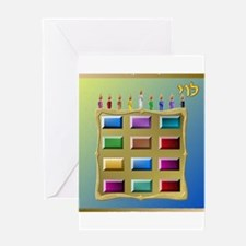 12 Tribes Israel Levi Greeting Cards