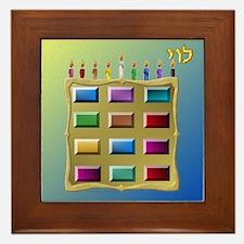 12 Tribes Israel Levi Framed Tile