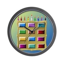 12 Tribes Israel Levi Wall Clock