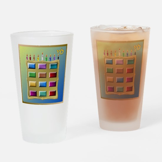 12 Tribes Israel Levi Drinking Glass