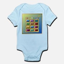 12 Tribes Israel Levi Body Suit